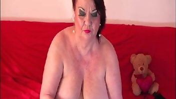BBW Fingering Granny Romanian Big Natural Tits