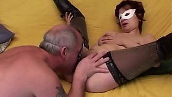Leather Anal Stockings Hardcore