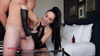 Gloves Handjob Tattoo Domination BDSM