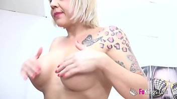 Contest Cumshot European Blonde Blowjob