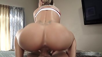 Dirty Talk Blonde Babe Blowjob POV