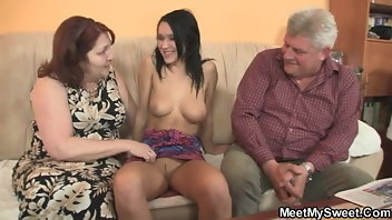 Cheating Wife Threesome Pussy European