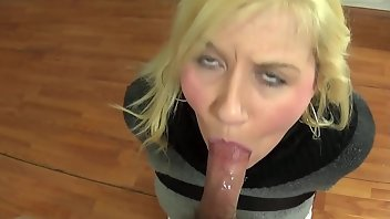 Bound Blonde Blowjob Amateur