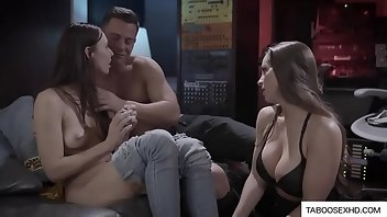 Mask Teen Doggystyle Threesome