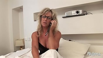 French Blonde MILF Amateur Mature