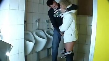 Toilet Cumshot Blonde Doggystyle