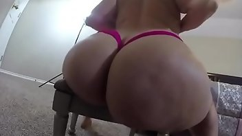 Azeri Thong Masturbation Webcam
