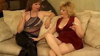 Cigarette Stockings Lesbian Pussy